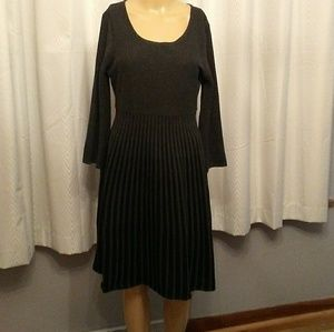 Beautiful Textured Sweater Dress Sz. L